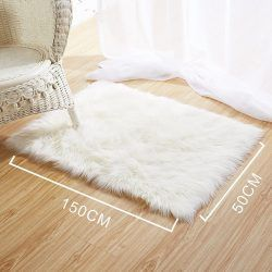 Textiles home staging tienda home staging - Alfombra oveja ...